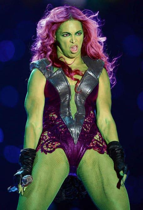 Hulk Beyonce