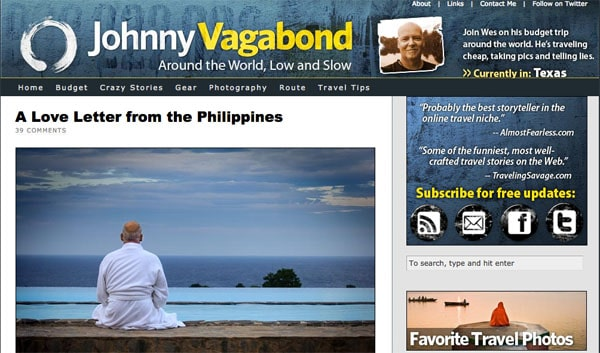 An Ode to Johnny Vagabond