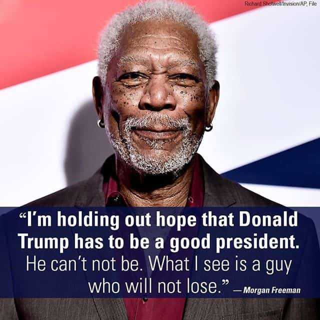 Morgan freeman out of context -- bad sources