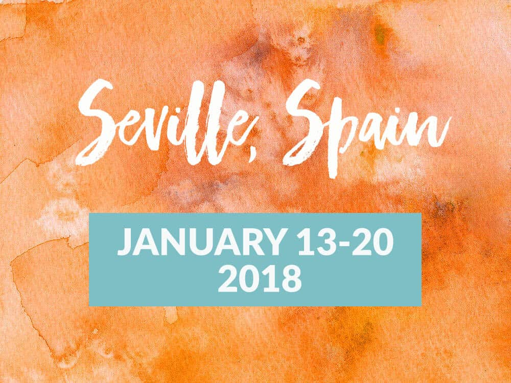 Join me in Seville to finish writing your book