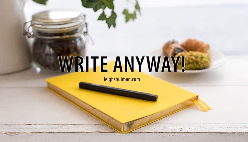 How-to write when you have a full time job